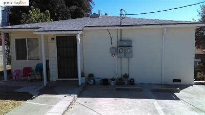 San Leandro Multi Family Home Back On Market: 2014 166th Avenue