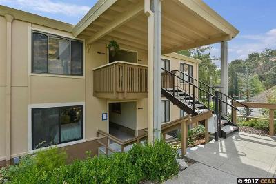 Walnut Creek Condo/Townhouse For Sale: 1372 Rockledge Ln #6
