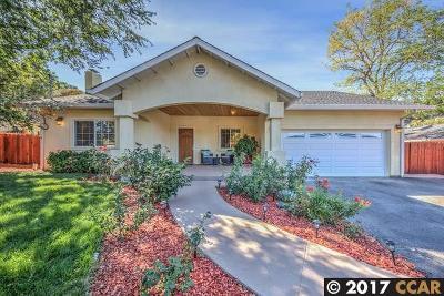Walnut Creek Single Family Home For Sale: 2527 Buena Vista Ave
