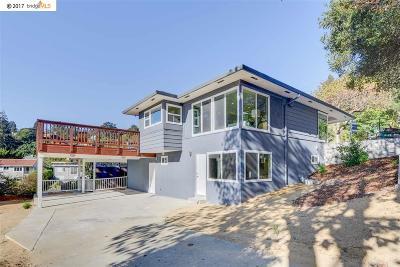 El Cerrito Single Family Home For Sale: 7742 Terrace Dr