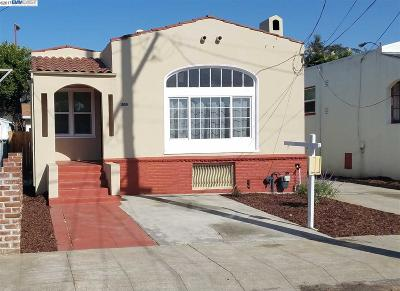Oakland Single Family Home For Sale: 8100 Idlewood St