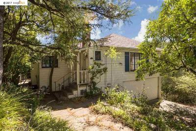 Berkeley Single Family Home For Sale: 2620 Marin Ave