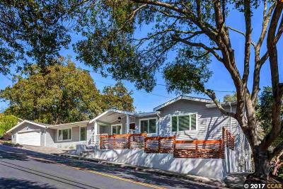 Orinda Single Family Home For Sale: 14 Saint Stephens Drive