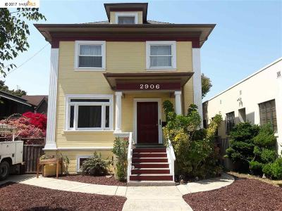 Berkeley Multi Family Home For Sale: 2906 Telegraph Ave
