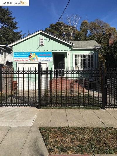 Oakland Single Family Home New: 2836 25th Avenue