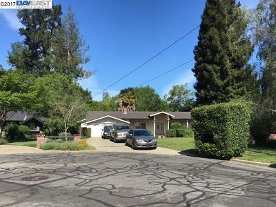 Alamo Single Family Home Active-Short Sale: 12 Garden Estates Ct