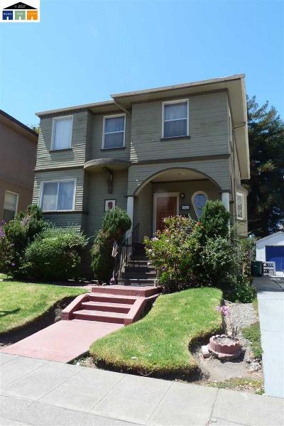 Oakland Single Family Home New: 1525 Adeline Street