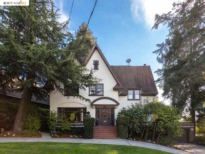 Piedmont Single Family Home New: 4 Sierra Avenue
