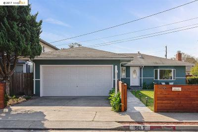 El Cerrito Single Family Home For Sale: 5216 School St