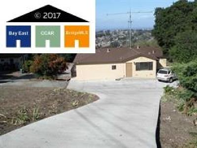 San Pablo Single Family Home For Sale: 6025 Rose Arbor Ave