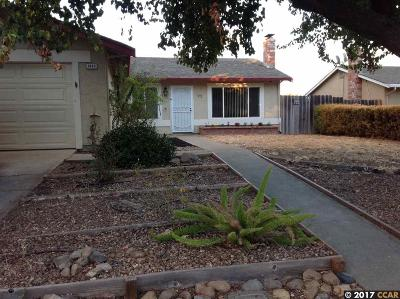 Antioch Single Family Home Back On Market: 3423 Dimaggio Way