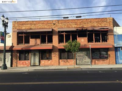 Oakland Commercial For Sale: 5812 Foothill Blvd