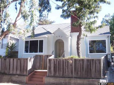 Richmond Single Family Home Back On Market: 582 Key Blvd