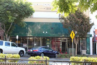 Hayward Commercial For Sale: 943 B Street