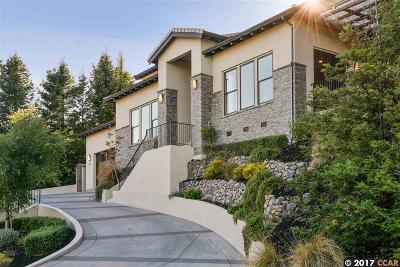 Orinda Single Family Home For Sale: 78 Oak Rd