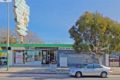 Oakland Commercial For Sale: 2628 San Pablo