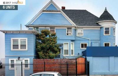 Oakland Multi Family Home For Sale: 3207 Telegraph Ave