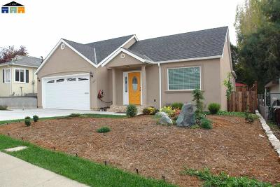 Hayward Single Family Home Price Change: 2563 Hermosa Terrace