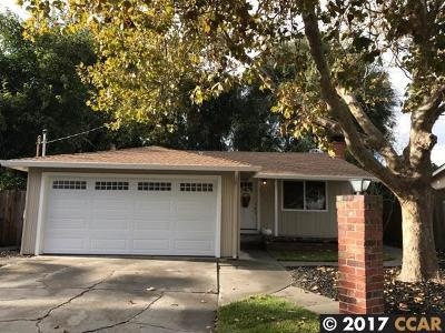 Pleasant Hill Single Family Home For Sale: 918 Santa Cruz Dr