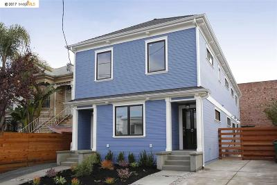Oakland CA Multi Family Home For Sale: $1,295,000