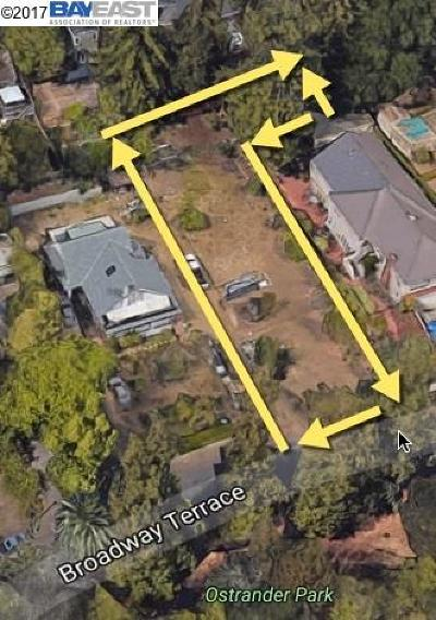 Oakland Residential Lots & Land For Sale: Broadway Terrace