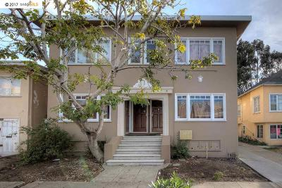 Oakland CA Multi Family Home For Sale: $1,600,000