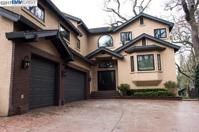 Alamo Single Family Home New: 1538 Hillgrade Ave