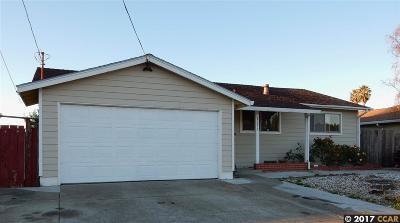 San Pablo Single Family Home New: 2273 Del Monte Dr