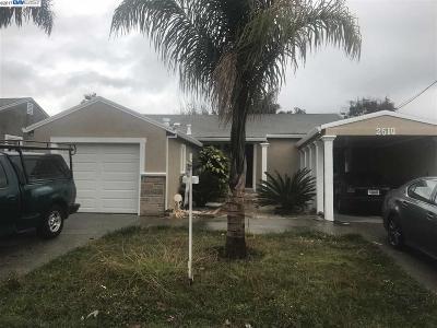 San Pablo Single Family Home New: 2510 Macarthur Ave
