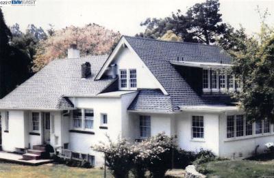 Piedmont Single Family Home New: 6028 Broadway Terrace