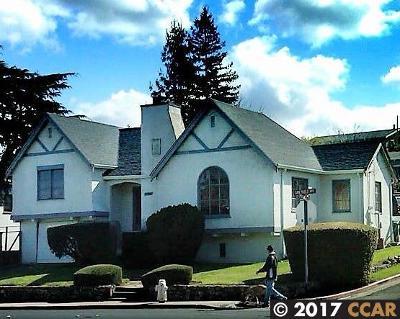 Pinole Single Family Home For Sale: 1707 San Pablo Avenue