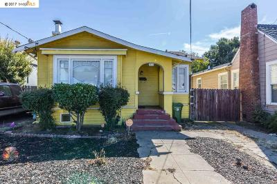 Oakland Single Family Home New: 2538 83rd Ave