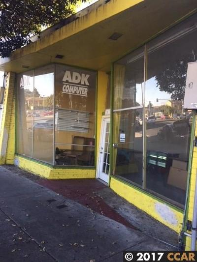 Richmond Commercial For Sale: 12833 San Pablo Ave.