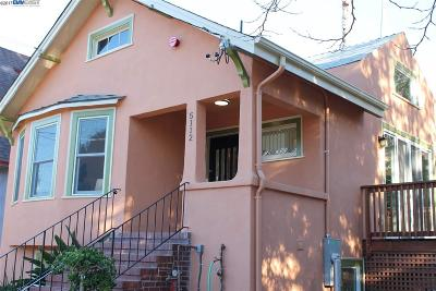 Oakland Single Family Home For Sale: 5112 Miles Avenue