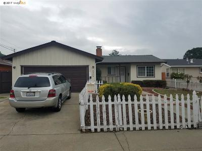 Pinole Single Family Home For Sale: 2309 Potrero Ct