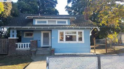 Fremont Single Family Home For Sale: 3754 Peralta Blvd