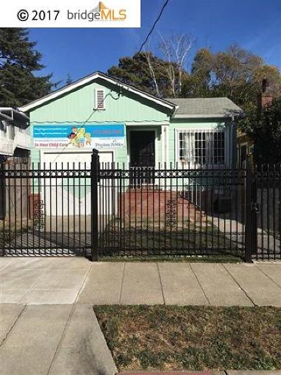 Oakland Single Family Home For Sale: 2836 25th Ave.