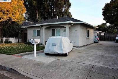 Castro Valley Multi Family Home For Sale: 2859 Greenview Dr