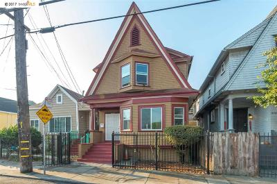 Oakland Single Family Home For Sale: 1037 24th St