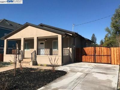 Hayward Single Family Home New: 1454 C Street