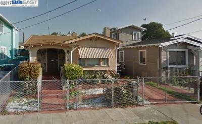 Oakland Single Family Home New: 6012 Holway St
