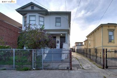 Oakland Multi Family Home New: 1732 7th Ave