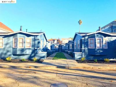 Oakland Multi Family Home New: 1422 Chestnut Street