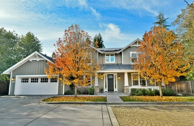 Walnut Creek Single Family Home Price Change: 186 Bella Serra Ct