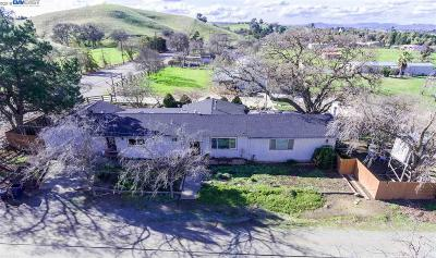 Livermore Single Family Home For Sale: 10834 Tesla Rd
