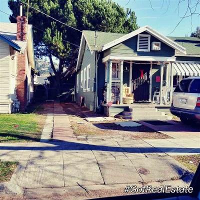 Oakland Single Family Home Pending Show For Backups: 8020 Hillside St