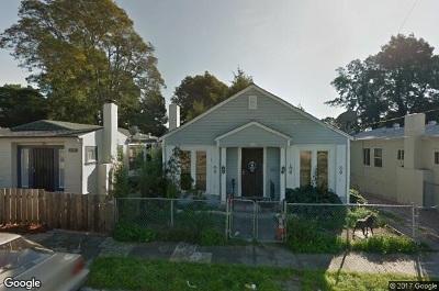 Oakland Single Family Home Pending Show For Backups: 2574 63rd Avenue