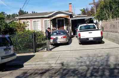 Oakland Single Family Home New: 2827 Frazier Ave