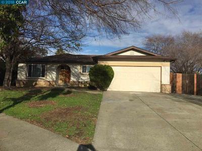 Pittsburg Single Family Home New: 1383 Berg Ct