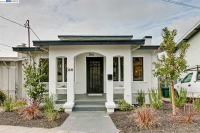 Oakland Single Family Home New: 3441 Coolidge Ave